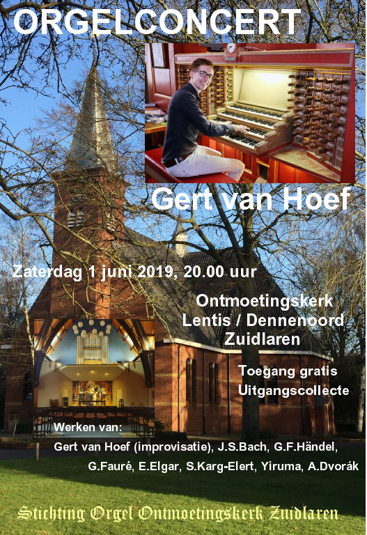 Poster orgelconcert