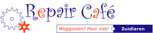 Repair cafe zuidlaren logo