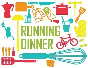 running dinner happen stappen pkn anloo zuidlaren
